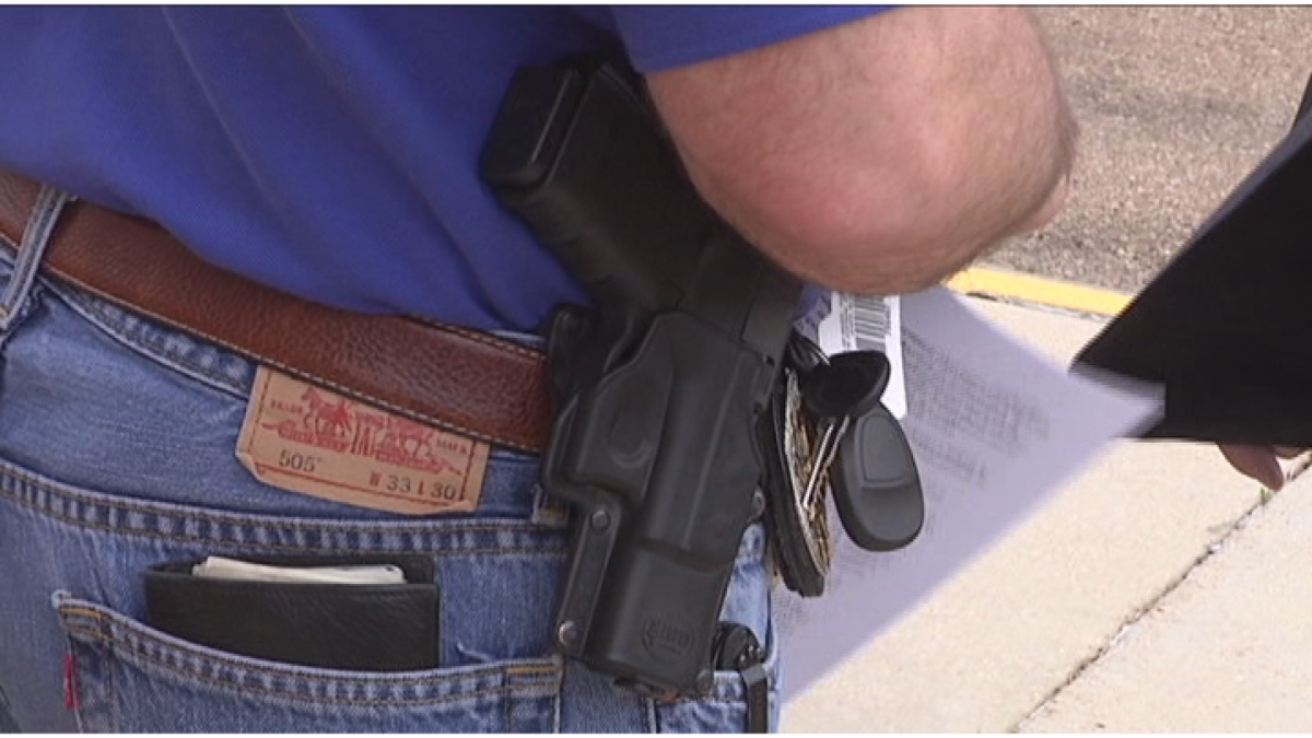 Permitless carry became law in Texas on Sept 1