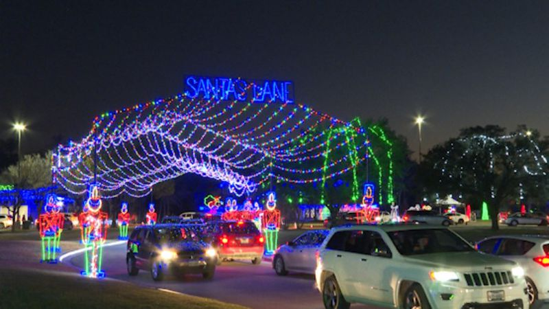College Station kicks off annual Christmas in the Park event.