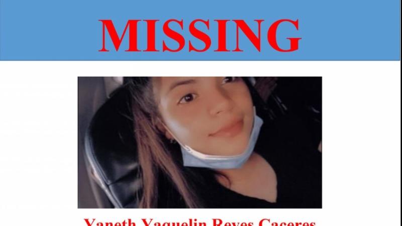 Yaneth Yaquelin Reyes Caceres, 14, was last seen Sept. 16.
