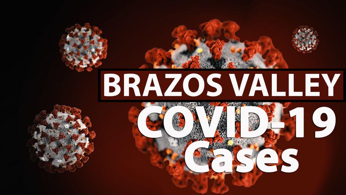 Brazos Valley COVID-19 cases