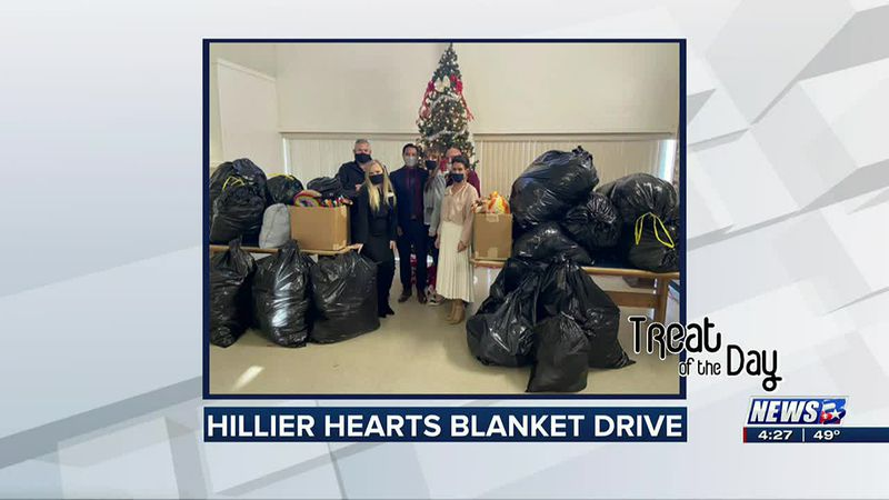 Treat of the Day: Hillier Hearts Blanket Drive