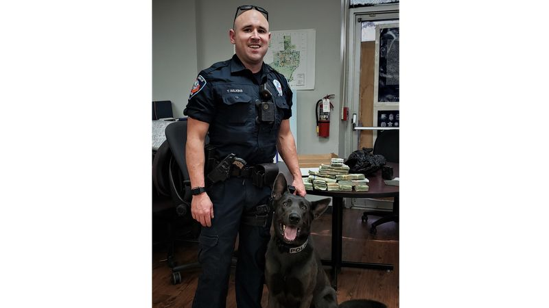 K-9 unit with Huntsville Police Department confiscated over $100,000 in suspected drug money
