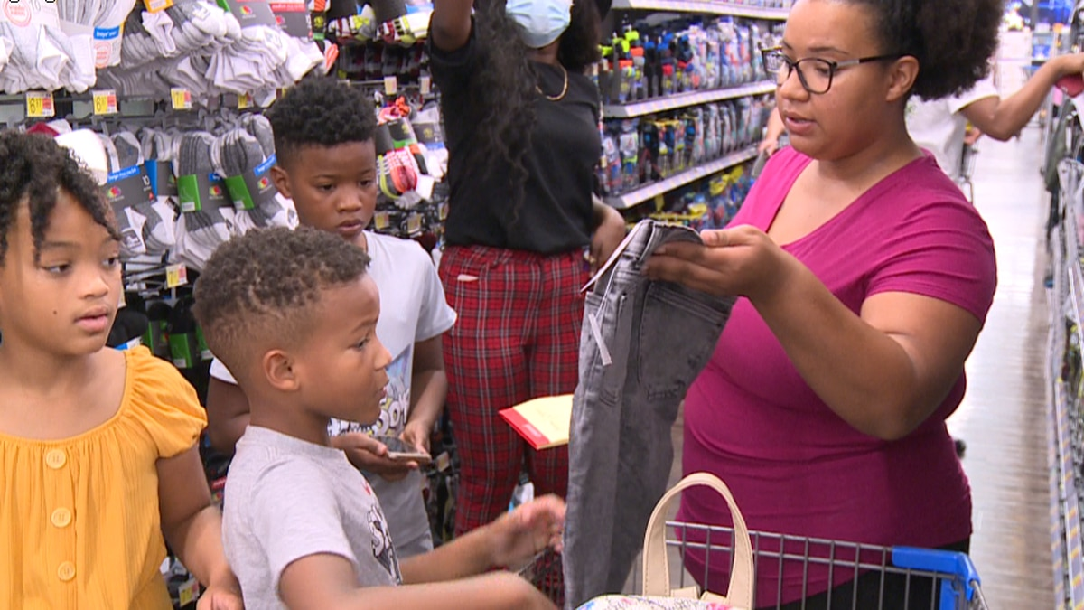 Salvation Army 11th Annual Back to School Shopping Event