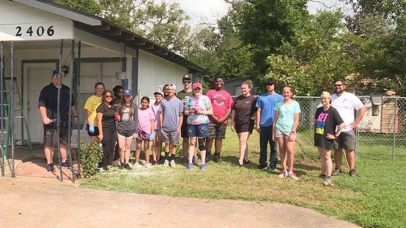 United Methodist youth from East and Southeast Texas are in Bryan this week.