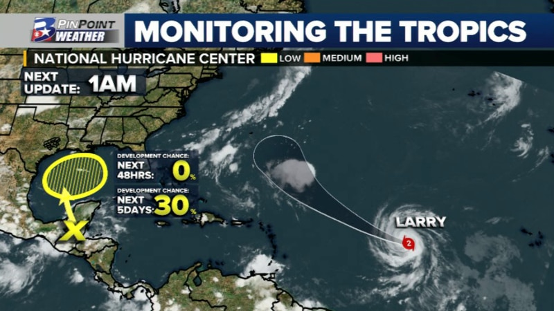 Latest information from the National Hurricane Center