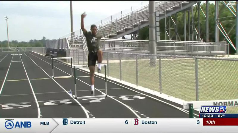 Normangee's Jones has sights set on 2A long jump state championship