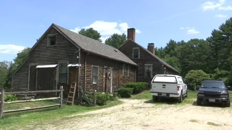 """The Rhode Island house made famous in """"The Conjuring"""" movies is going up for sale."""