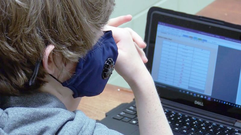 The College Station school board on Tuesday approved changing mask-wearing from required to...