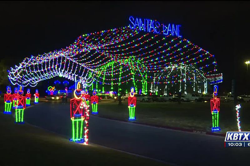 Christmas in the Park illuminates BCS for the first time as families look for safer ways to...