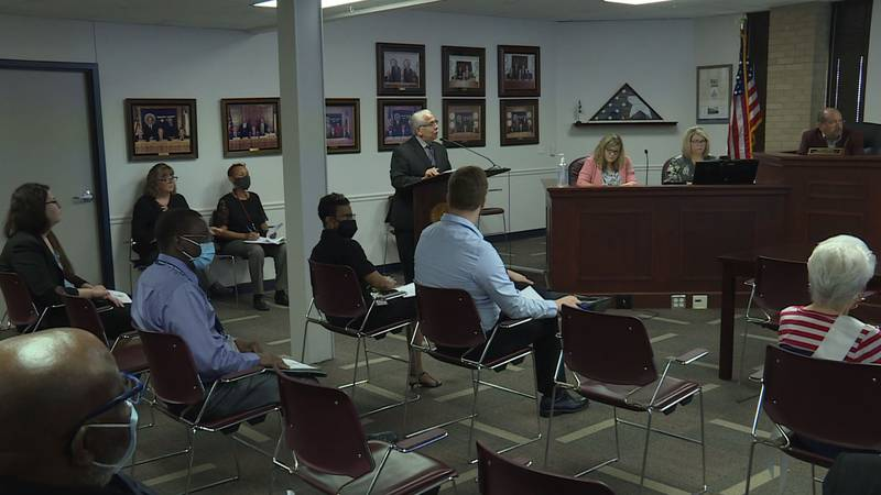 Commissioners received an update from the health district about concerning COVID trends.