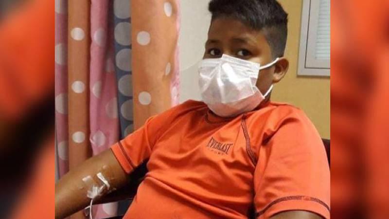 Thirteen-year-old Lorenzo Carrizales passed away from leukemia on July 28, 2021.