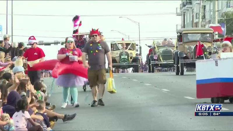 The BCS Christmas parade is canceled ... again