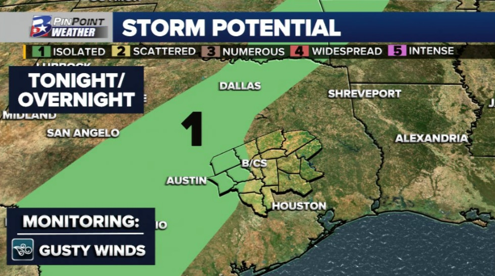 Heavy rain will be the main thing to monitor, but an iso. strong wind threat is not completely...