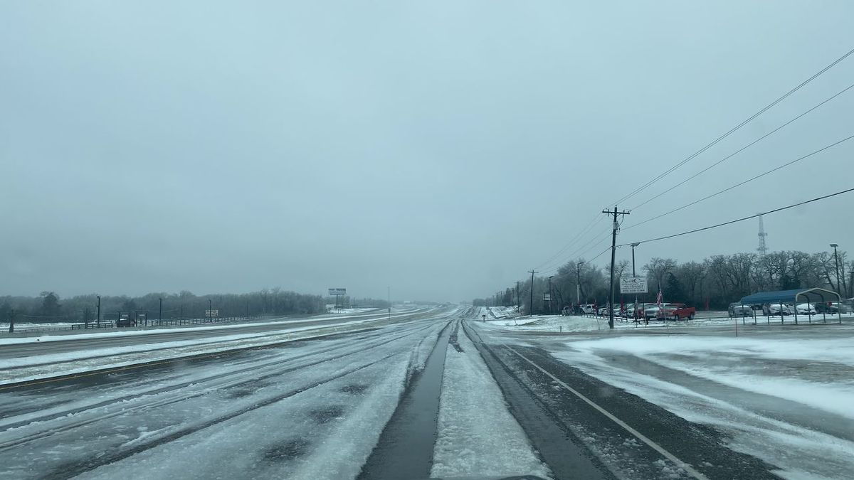 Snow and ice cover Highway 6 this week following a series of storms that crippled the state. On...