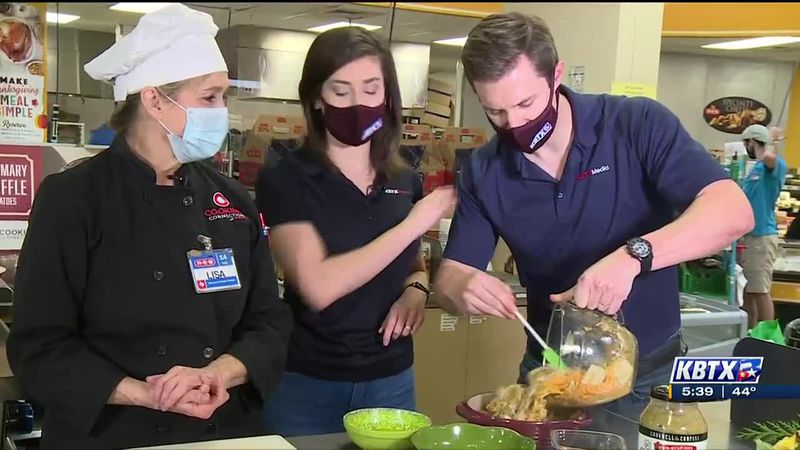Easy leftover Thanksgiving recipes with H-E-B Cooking Connection