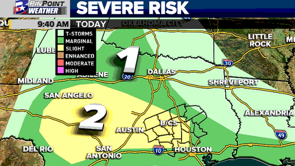 Strong storms will be capable of dropping hail once again Thursday afternoon. Another round of...