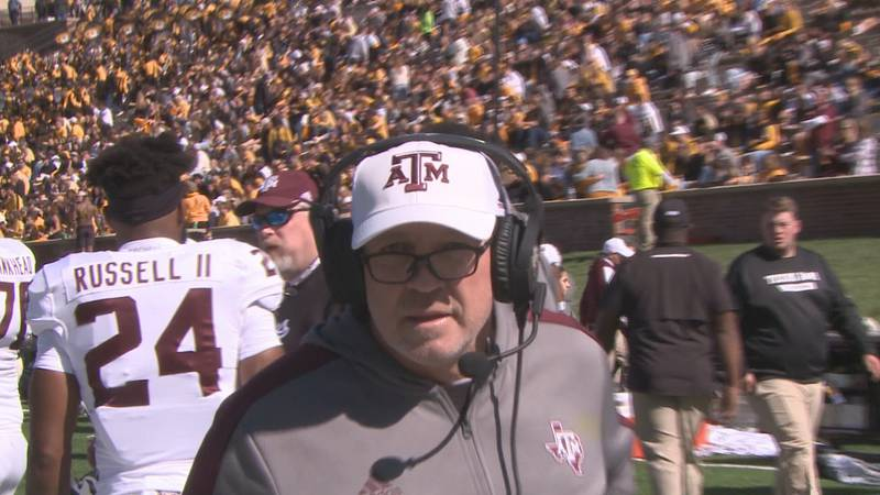 Texas A&M Head Football Coach Jimbo Fisher