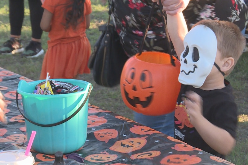 From costumes to buckets upon buckets filled with candy, Halloween was on full blast Wednesday...