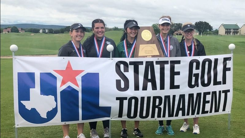 The Normangee Lady Panther golf team claimed the Class 2A UIL State Championship Tuesday...