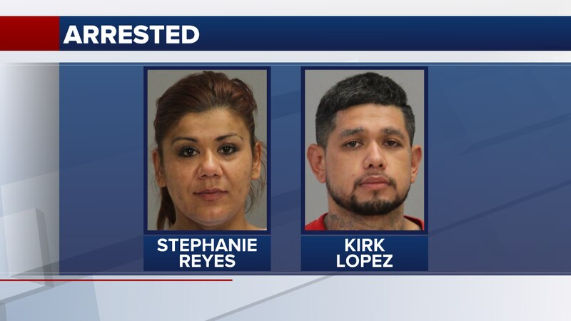 Stephanie Reyes, 35, and Kirk Lopez, 34