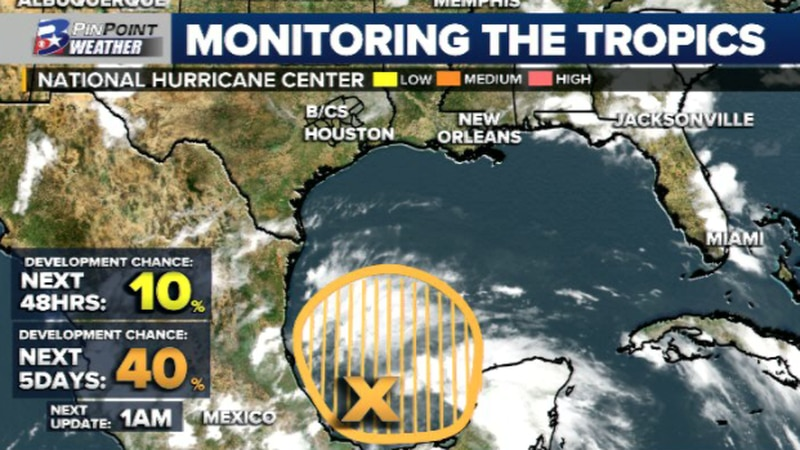 Saturday Evening Update from the National Hurricane Center