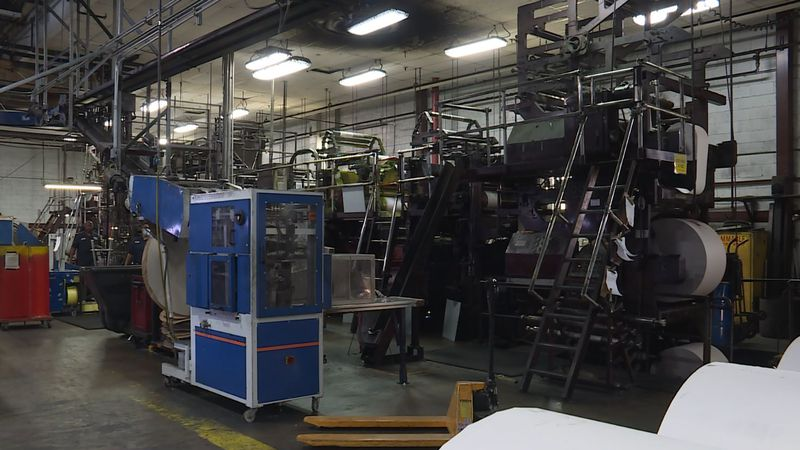 The printing presses are running again at the newspaper after power outages and severe winter...