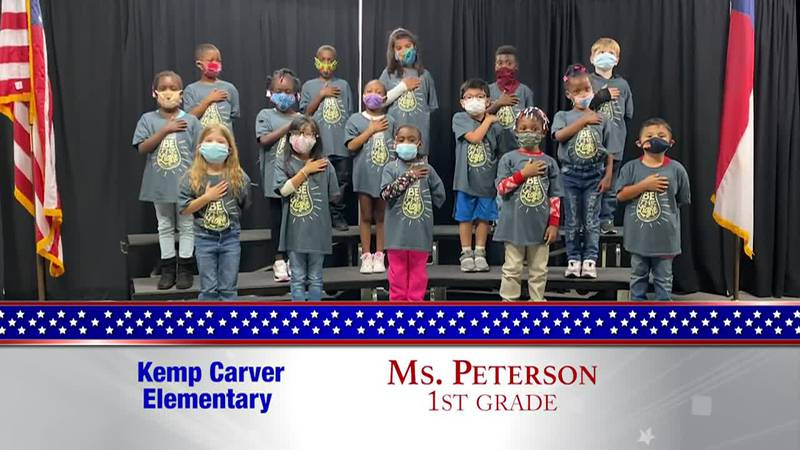 Daily Pledge - Kemp Carver Elementary – Ms. Peterson's Class