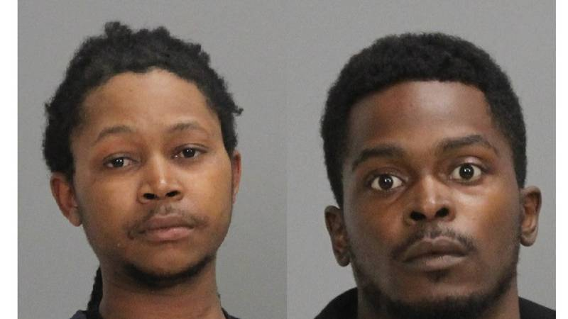 Tyler Sims, 25, and Bruntae Parr, 25