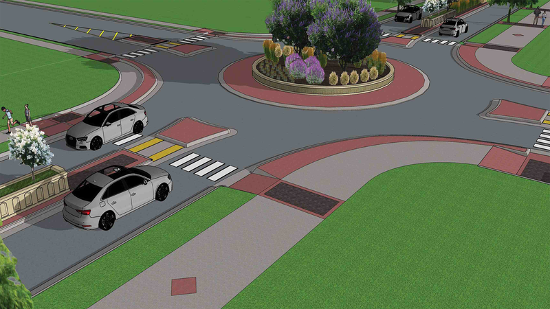 Two new roundabouts are being planned as well as other improvements for South College Avenue.