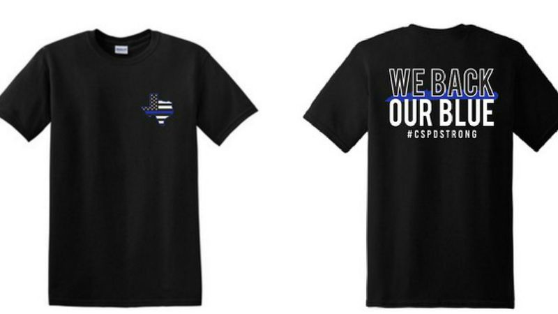 CSPOWA holding t-shirt fundraiser for local police.