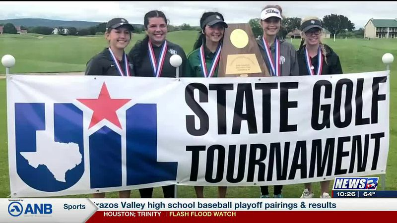 Normangee Lady Panthers claim 2A State Golf Championship