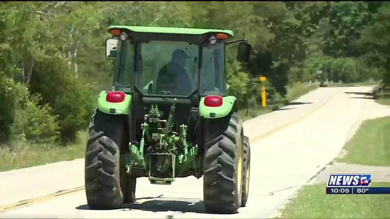 Brazos County Crime Stoppers offering reward in stolen tractor case