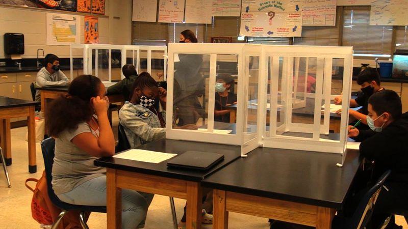 Bryan ISD classroom