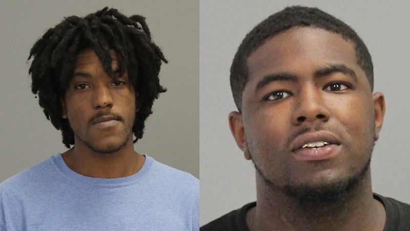 Christopher Driver, 26, and Larry Jefferson, 24