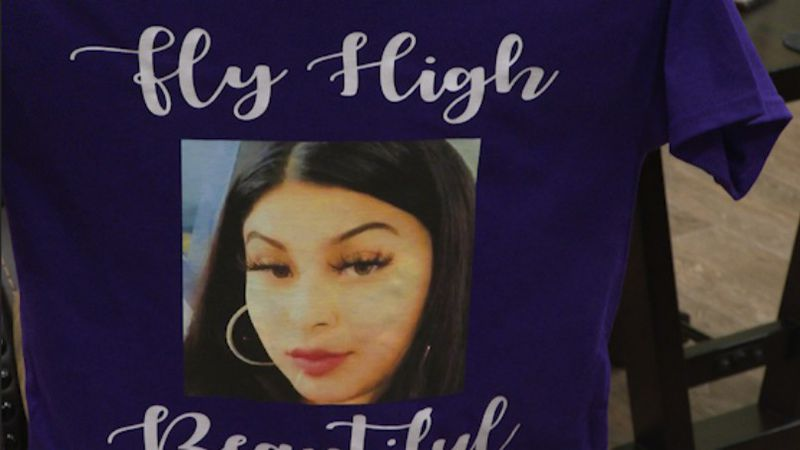 Family of Ariana Lopez created shirts to honor the young mother's life.
