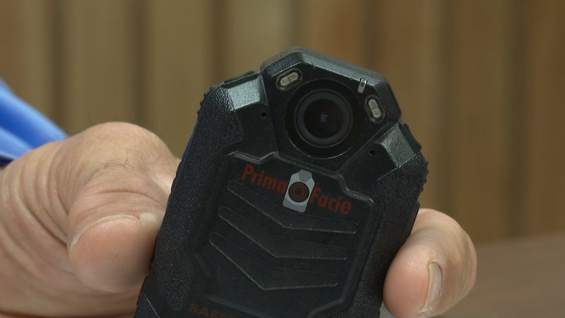 Pictured is the body cameras Madison County Sheriff's Office uses currently.