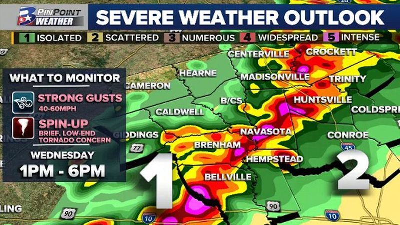Rain and thunderstorms are likely ahead of and along a strong cold front rolling through the...