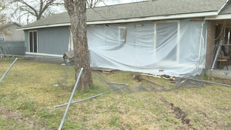 Local family turns to community for help after car drives into home.