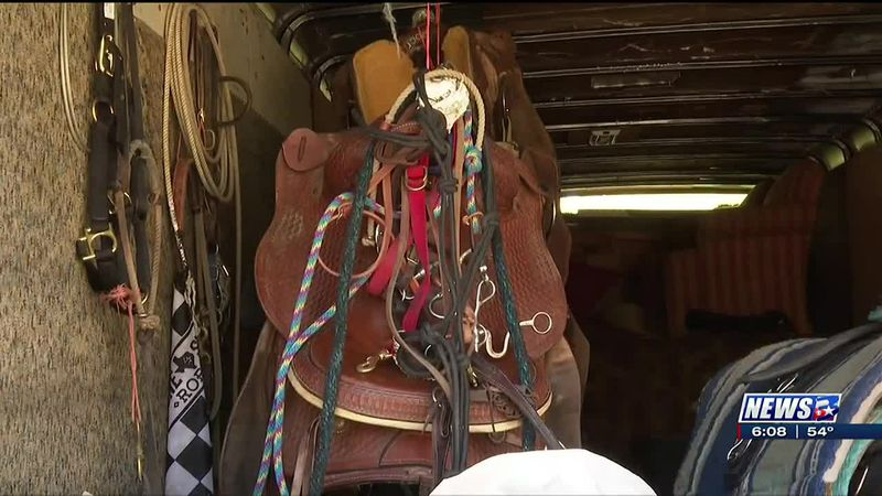 Several horse saddles stolen from local properties