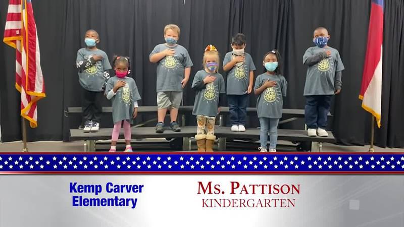 Daily Pledge - Kemp Carver Elementary – Ms. Pattison's Class