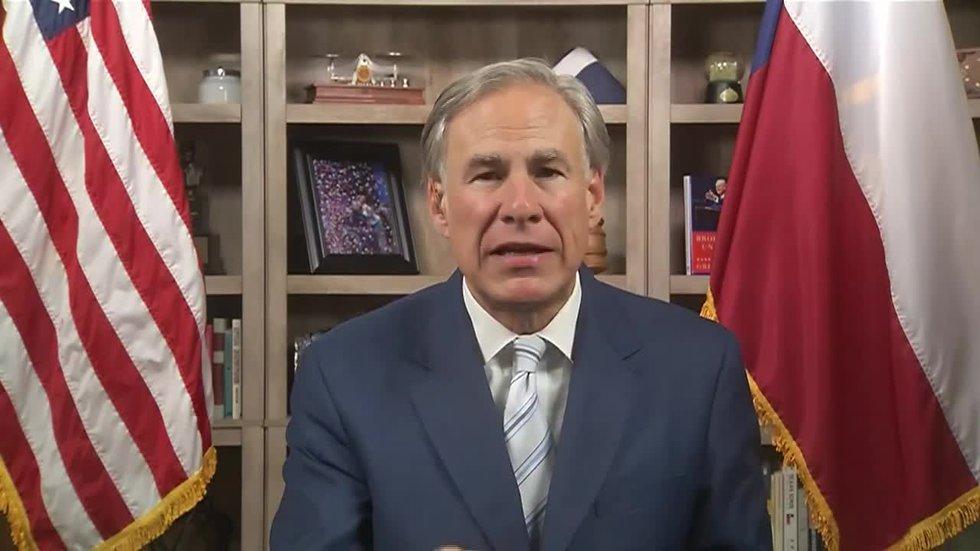 Texas Gov. Greg Abbott slammed Texas Democrats for leaving the state instead of attending the...
