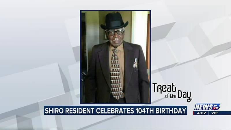 Treat of the Day: Shiro resident celebrates 104th birthday