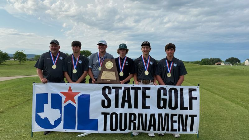 The Normangee golf team made it a clean sweep claiming the Class 2A boy's team championship...