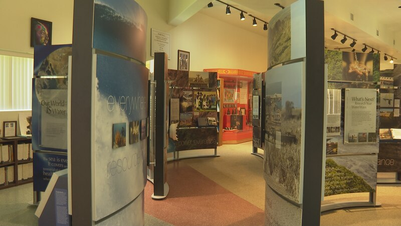 Water/Ways exhibit at the Brazos Valley African American Museum