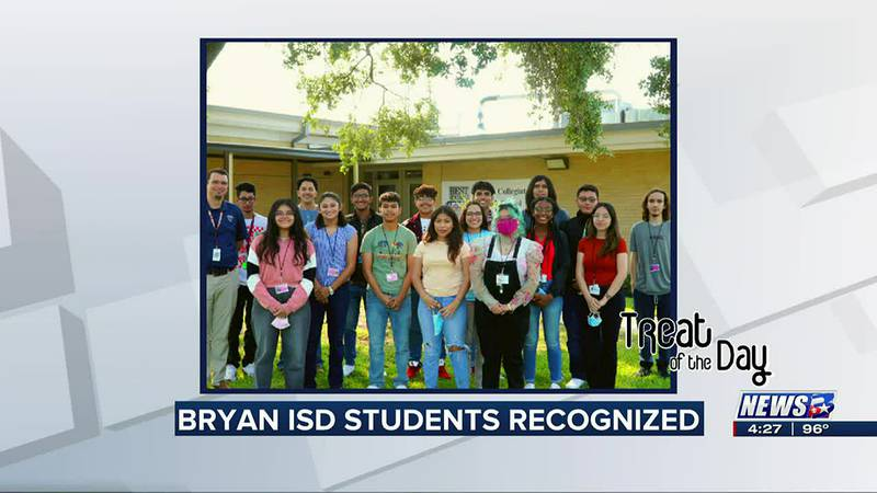 Treat of the Day: BISD students recognized for academic excellence