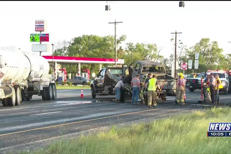 Highway 21 back open after major accident