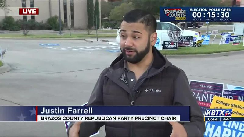 Justin Farrell is a precinct chair for the Brazos County Republican Party.