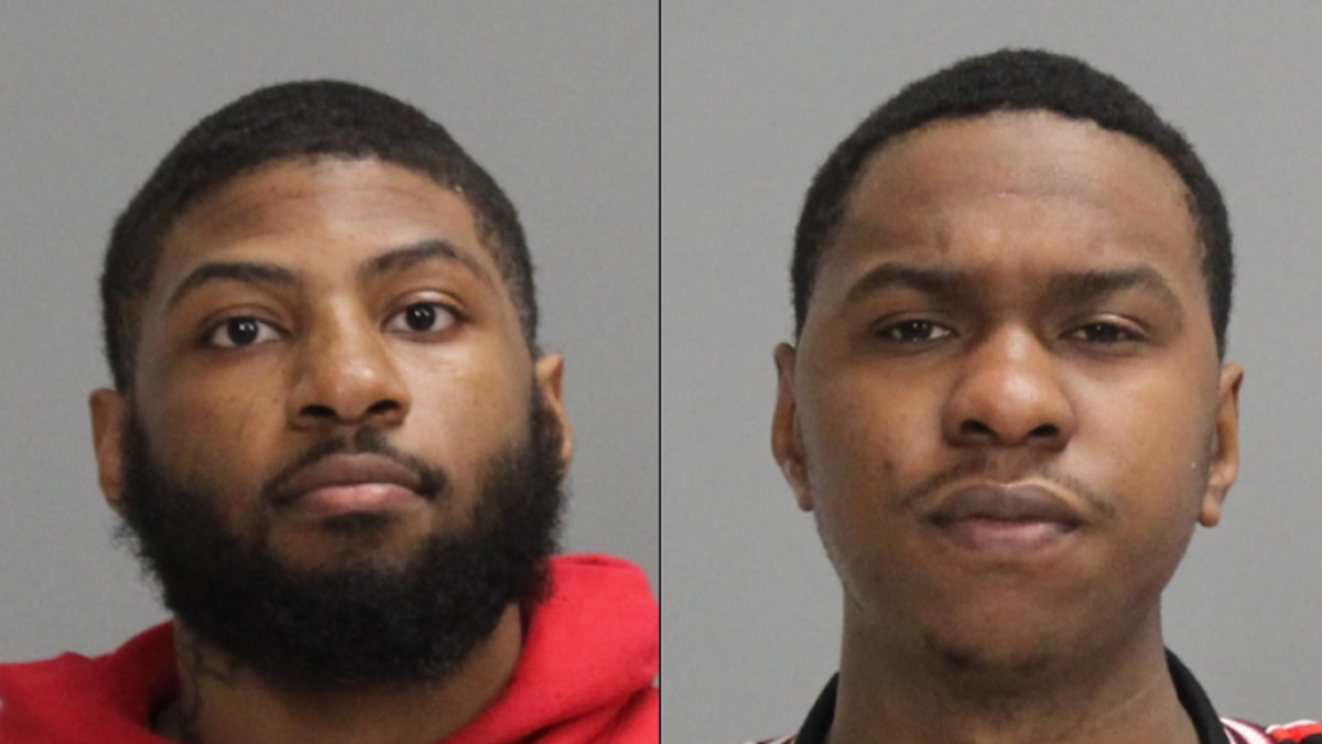 Hollis and Williams arrested