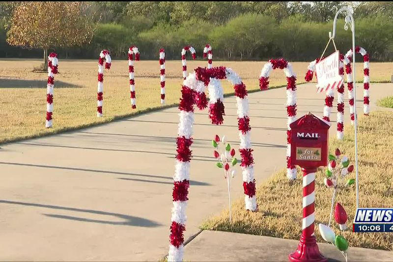 Bryan woman sets up mailbox in her yard for kids to mail letters to Santa