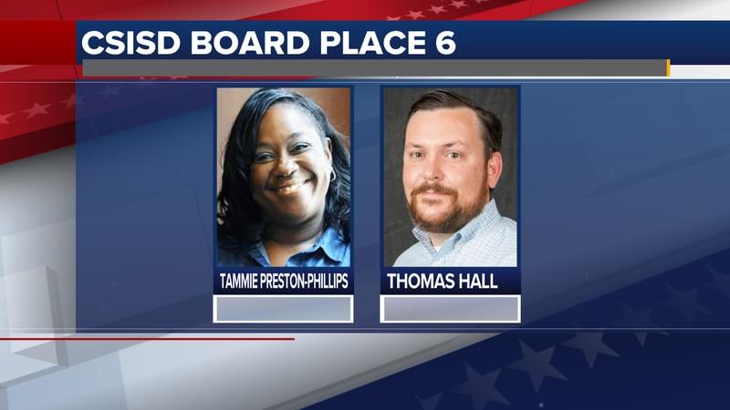 The two candidates running for CSISD Board Place 6